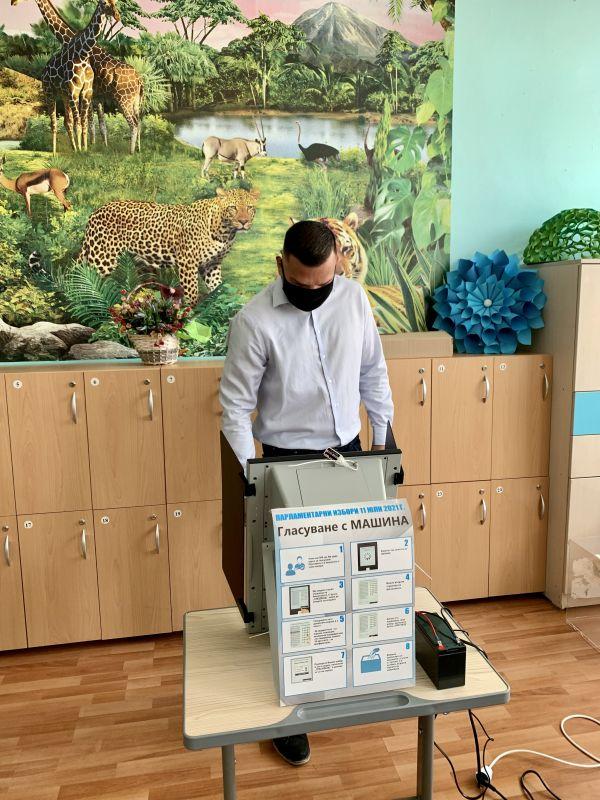 Владимир Русев: Упражних правото си на вот днес с разум и вяра